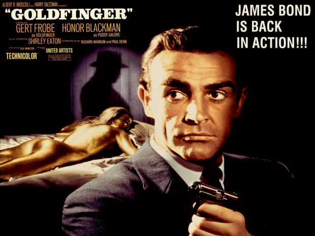 The james bond rewatch goldfinger 1964