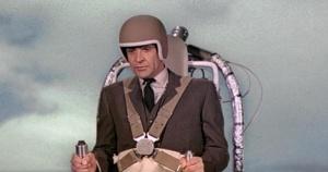 Safety first, Bond - always wear a helmet