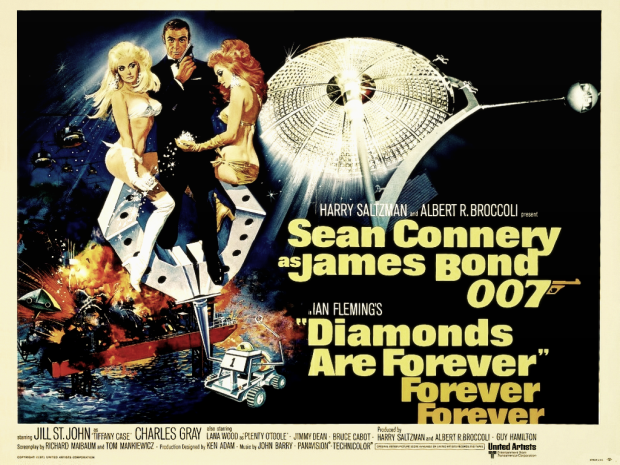 Diamonds Are Forever James Bond