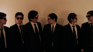 The Angulo brothers doing their best Reservoir Dogs impersonations