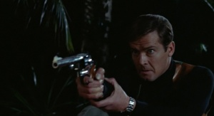 James Bond with a Dirty Harry-style .44 Magnum