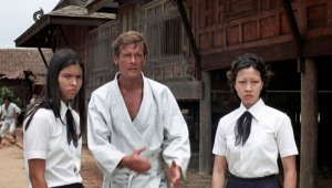 Bond pretends to know martial arts while these school girls kick actual ass