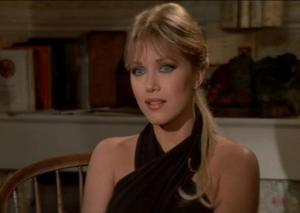 Tanya Roberts as Stacey Sutton - she excels at being kidnapped