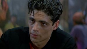 A baby-faced Benicio!