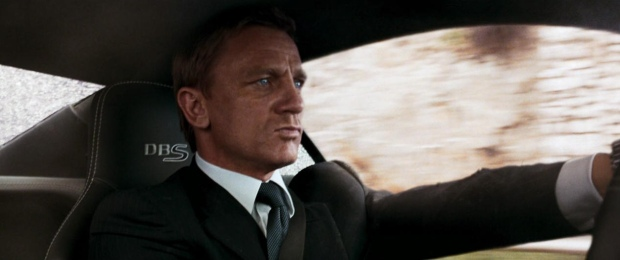 Quantum of Solace James Driving